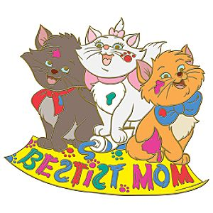 Bestist Mom Aristocats Pin