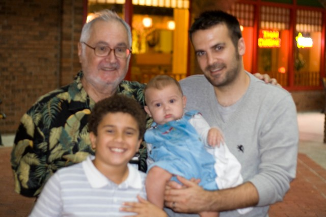 Abuelo, Craig, Matthew and Wes